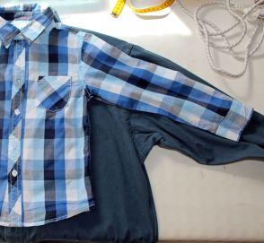 hemd op hemd