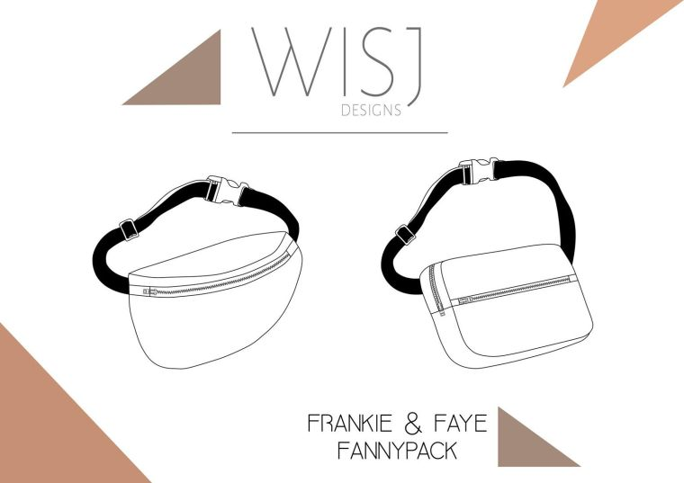 Frankie and Faye fannypack