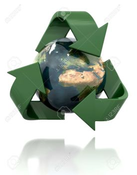 4284920-Globe-in-a-recycling-icon-Stock-Photo