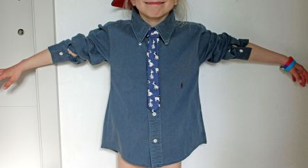 Hemd en das Dita